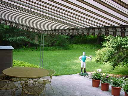 Patio awning 20' x 10'